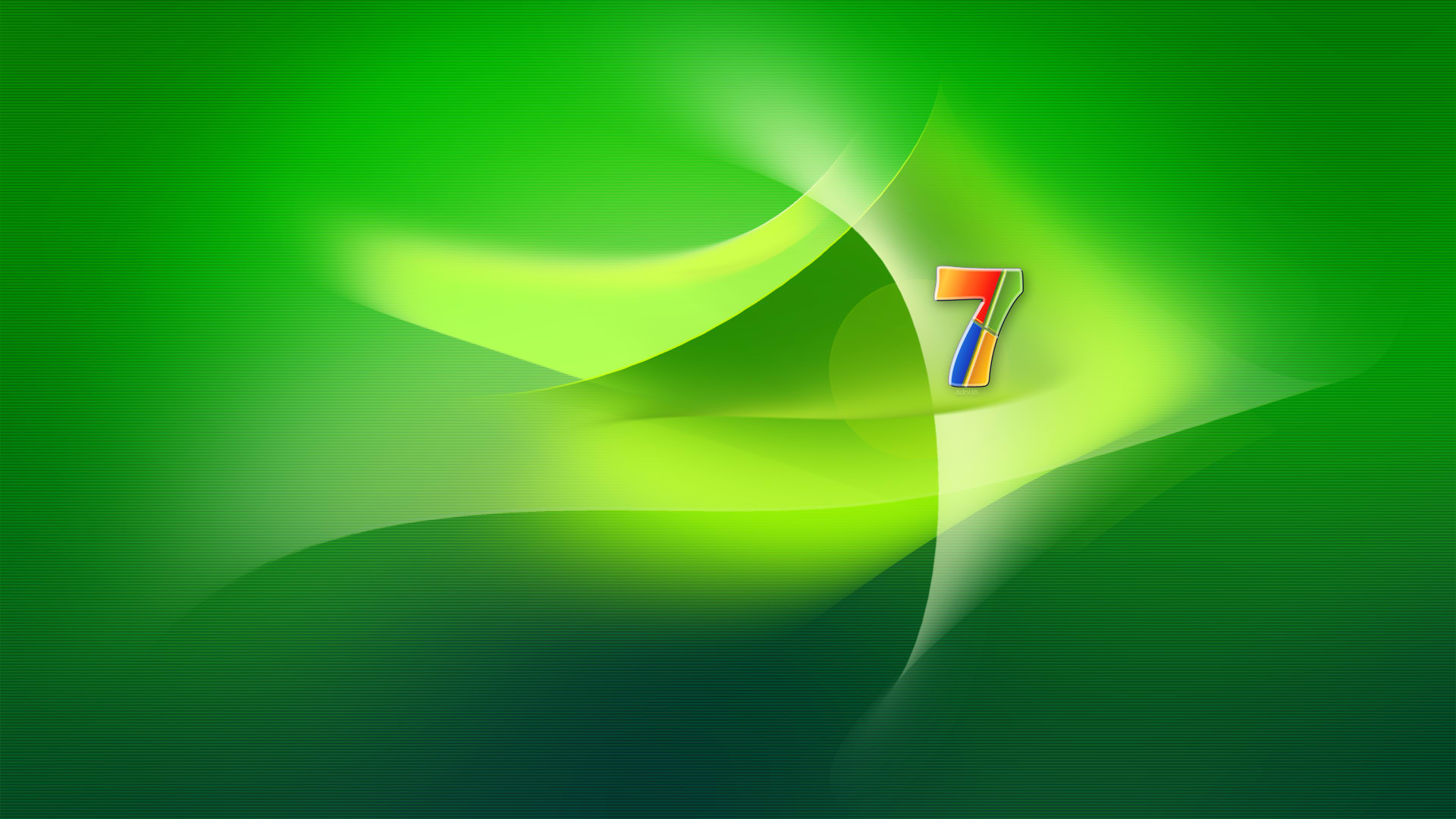 Windows 7 Green