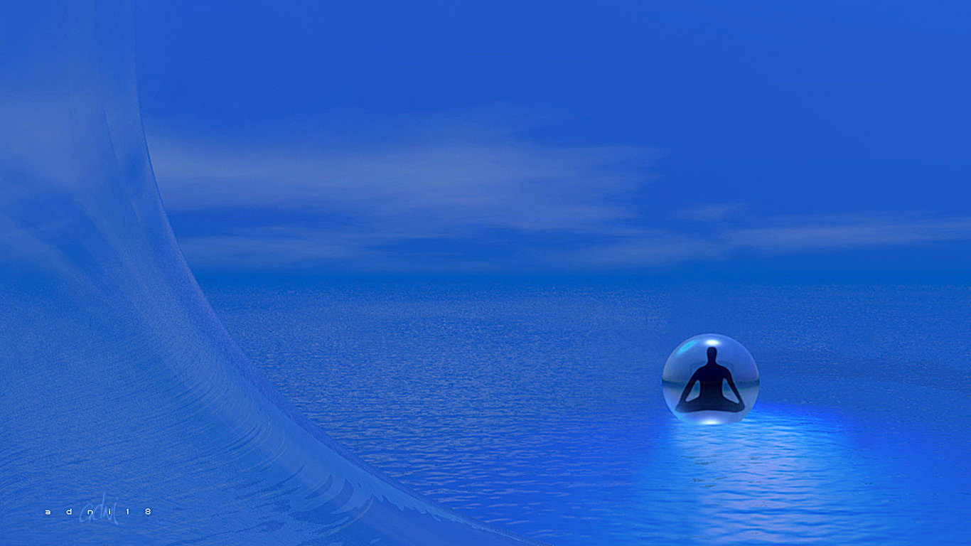 Meditation InToThe Blue