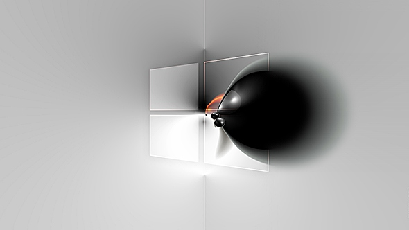 Windows Black Hole - (UHD Free Wallpaper)